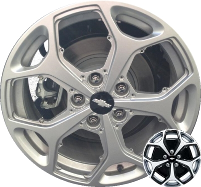 Chevy Stock Wheels Painted Black