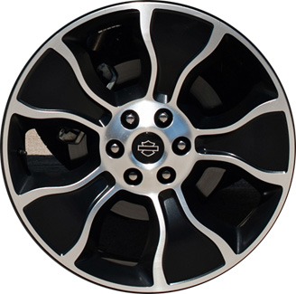ALY3895 Ford F-150 Harley Davidson Wheel Black Machined #CL3Z1007A