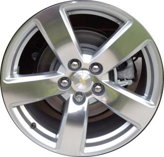 ALY5562U15 LS09 Chevrolet Malibu Wheel Silver Machined #9598209