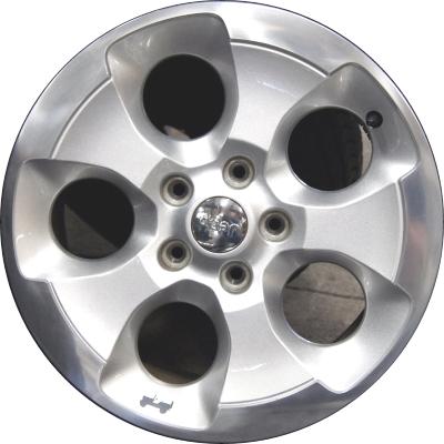 Aly9119u90 Ps08 Jeep Wrangler Wheel Silver Machined 1xa51dd5aa