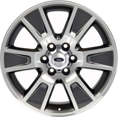Ford F150 Rims >> Aly3787u35 Ford F 150 Wheel Charcoal Machined El3z1007a