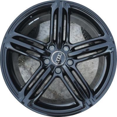 ALY58886U45 Audi Q7 Wheel Black Painted #4L0601025CF