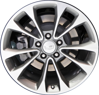cadillac ats coupe wheels rims wheel rim stock oem replacement. Black Bedroom Furniture Sets. Home Design Ideas