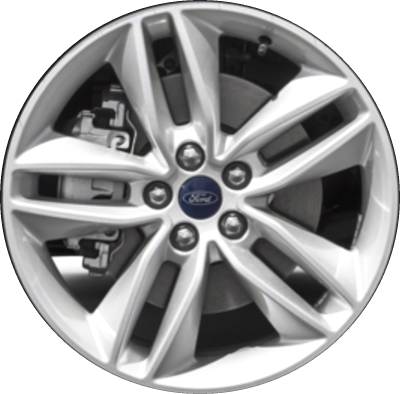 Aly Ford Edge Wheel Silver Painted Ftza