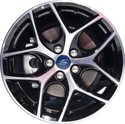 Aly10012 Ford Focus Wheel Black Machined Fm5z1007a