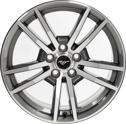 2015 2017 Mustang Wheels >> Aly10030u30 Ford Mustang Wheel Charcoal Machined Fr3c1007bb
