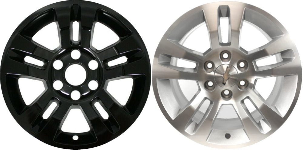 "For 99-14 Chevy Silverado 16/"" 5 Spoke Chrome Hubcaps Hub Cap Wheel Skins 4pcs"