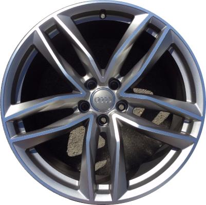 ALYUHH Audi A A S Wheel Grey Machined HBS - Audi rims