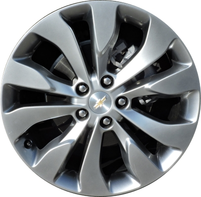 Chevrolet malibu wheels rims wheel rim stock oem replacement aly5718 chevrolet malibu wheel hyper silver 22969725 publicscrutiny Image collections