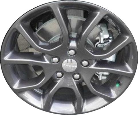 Dodge Durango Lug Pattern >> Aly2570u35 2571 Dodge Durango Wheel Charcoal Painted 5xk97trmaa