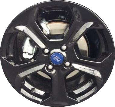 aly3968u45 ford fiesta wheel black painted c1bz1007h