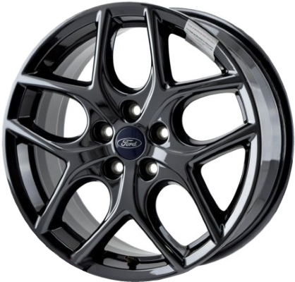 Ford Focus Wheels >> Aly10011u45 Pb01 Ford Focus Wheel Black Painted Fm5z1007e