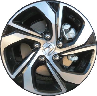 Honda Factory Rims >> Aly64078 Honda Accord Wheel Black Machined 42700t2al62