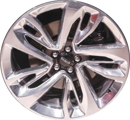 Aly10076 Lincoln Mkx Wheel Black Polished Fa1z1007j