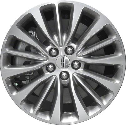 Aly10072u78 Lincoln Mkx Wheel Grey Machined Fa1c1007b1a
