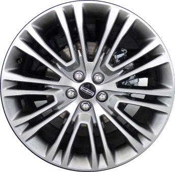 Aly10075 Lincoln Mkx Wheel Grey Machined Fa1c1007c1a