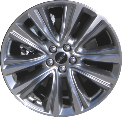 Aly10074 Lincoln Mkx Wheel Hyper Silver Machined Fa1c1007g1a