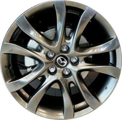 HYPV3 Mazda6 Wheel Dark Smoked Hyper Silver