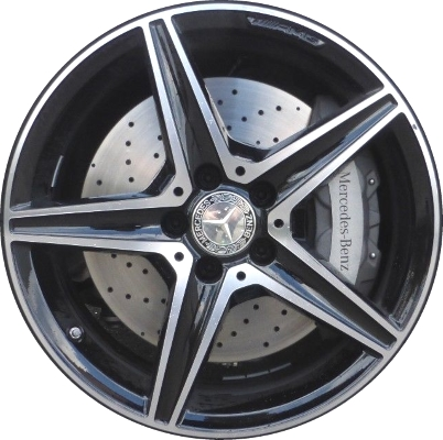 Mercedes c450 wheels rims wheel rim stock oem replacement for Mercedes benz amg rims for sale