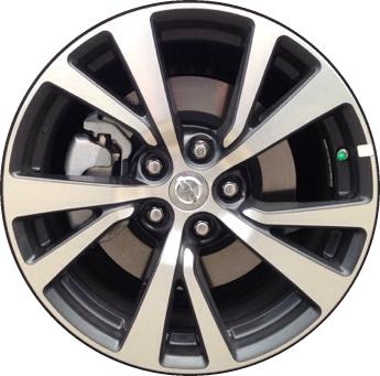 Aly62721 Nissan Maxima Wheel Charcoal Machined 403004ra3e