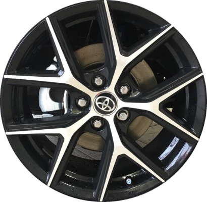 toyota rav4 wheels rims wheel rim stock oem replacement. Black Bedroom Furniture Sets. Home Design Ideas