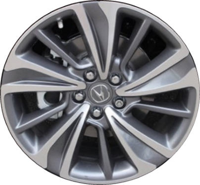 ALYU Acura MDX Wheel Grey Machined TZB - Acura mdx oem wheels