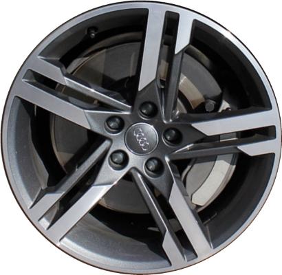 ALY Audi A Wheel Grey Machined WM - Audi rims