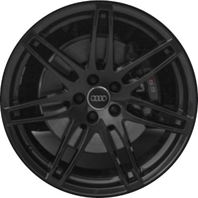 ALYU Audi A S Wheel Black Painted TDE - Audi rims