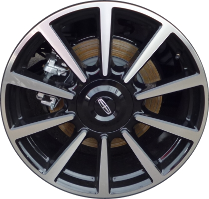 lincoln continental wheels rims wheel rim stock oem replacement. Black Bedroom Furniture Sets. Home Design Ideas