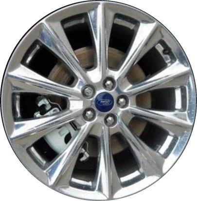Aly Ford Edge Wheel Polished Gtzd
