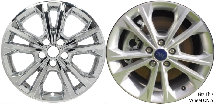 Ford Escape Chrome Wheel Skins Hubcaps Simulators