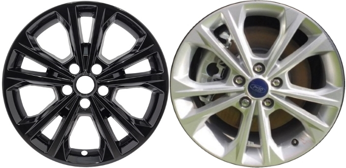 Imp 414blk 788gb Ford Escape Black Wheel Skins Hubcaps Wheelcovers