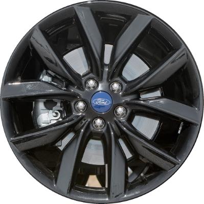 Aly10112 Ford Escape Wheel Black Painted Gj5z1007e