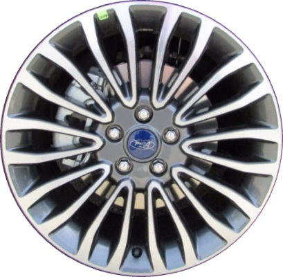 Aly10121 Ford Fusion Wheel Charcoal Machined Hs7z1007c