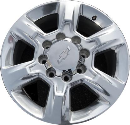 Chevrolet Chevy Silverado 3500 SRW Wheels Rims Wheel Rim Stock OEM Replacement