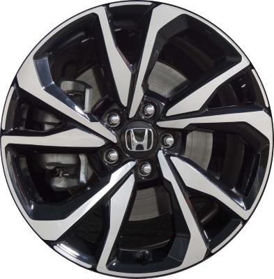 honda civic wheels rims wheel rim stock oem replacement. Black Bedroom Furniture Sets. Home Design Ideas
