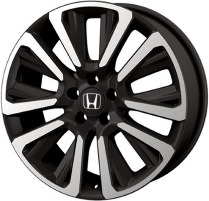 ALY60 Honda CRV Wheel Black Machined 60W60TLA60 Adorable Honda Cr V Bolt Pattern