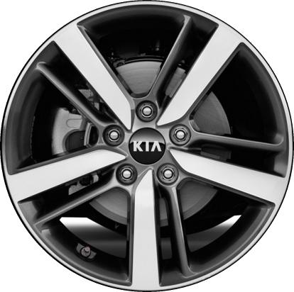 Kia Forte Wheels Rims Wheel Rim Stock Oem Replacement