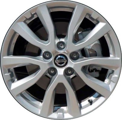 Nissan Rogue Rim >> Nissan Rogue Wheels Rims Wheel Rim Stock OEM Replacement