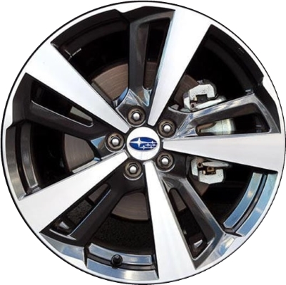 subaru impreza wrx wheels rims wheel rim stock oem replacement. Black Bedroom Furniture Sets. Home Design Ideas