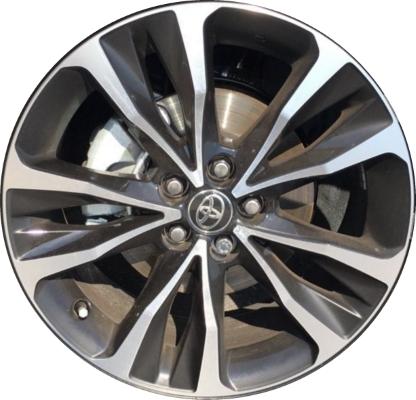 2007 toyota corolla wheel specs