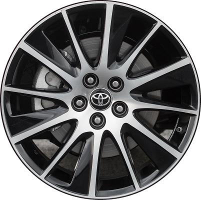 Aly75215u45 Toyota Highlander Wheel Black Machined 426110e470