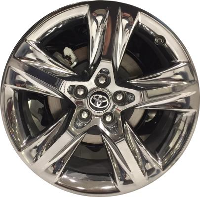 Aly75163hh Toyota Highlander Wheel Dark Chrome Clad 4260d0e020
