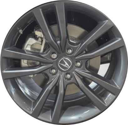 ALYU Acura TLX Wheel Grey Painted TZA - Acura oem wheels
