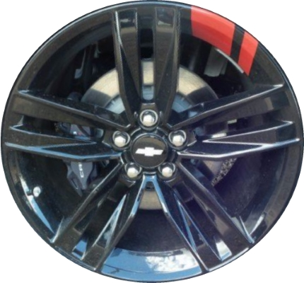 Aly5761u45rl Chevrolet Camaro Redline Wheel Black Painted 84067165