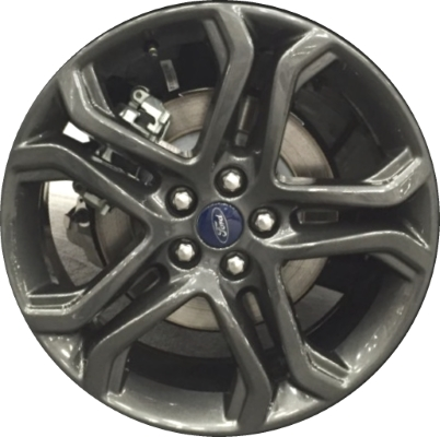 Alyu  Ford Edge Wheel Metallic Grey Painted Jtza