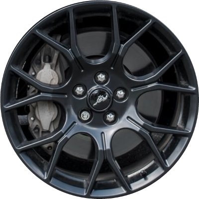 Ford Mustang Rims >> Aly10163 Ford Mustang Wheel Black Painted Jr3z1007e