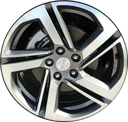 Aly96160u35 Gmc Terrain Wheel Grey Machined 23363167