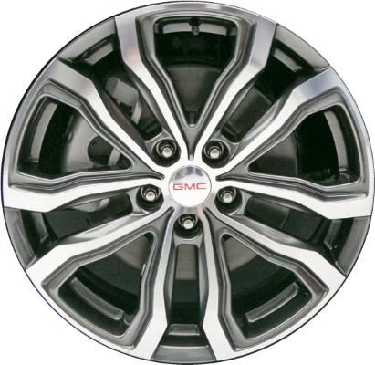 Aly97988hh 5836 Gmc Terrain Wheel Grey Machined 23363164
