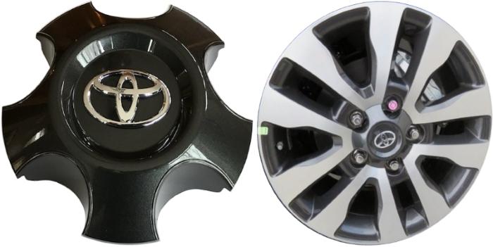 Buy Toyota Sequoia Center Caps Factory Oem Hubcaps Stock